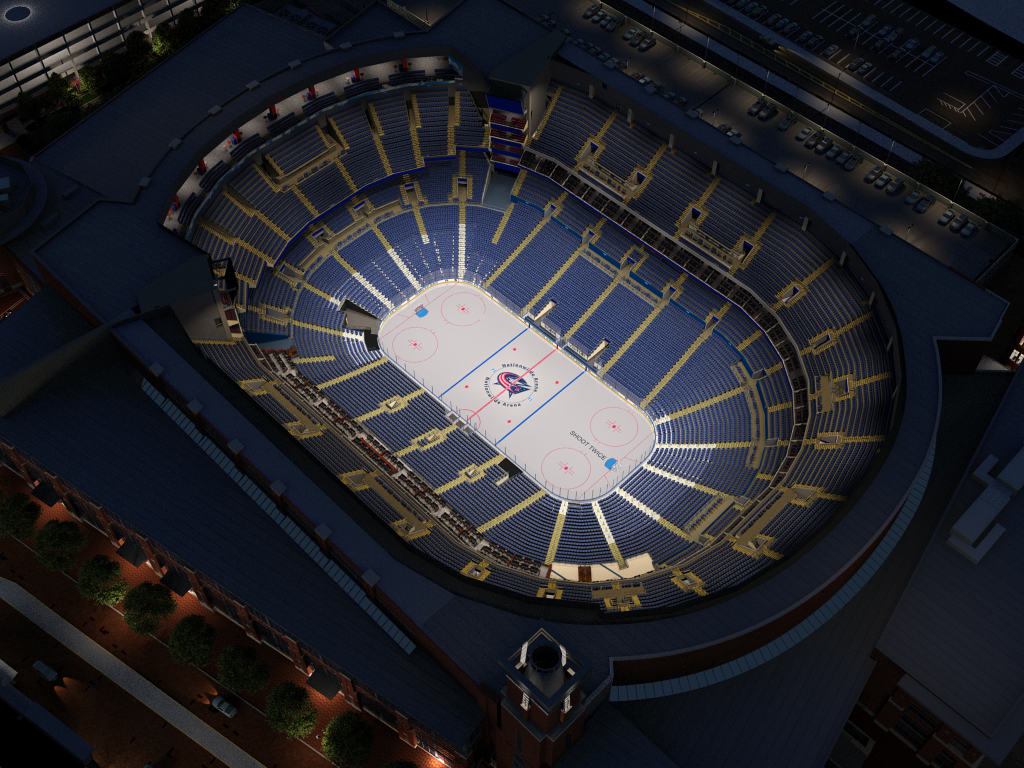 Columbus Blue Jackets Virtual Venue™ by IOMEDIA